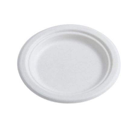 "9"" ROUND COMPOSTABLE PLATES (500/CS) - Paper Supplies Plus"
