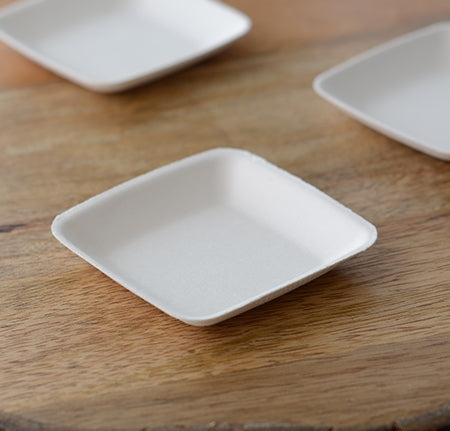 "2.25"" Mini Square Dish (500 Per Case)"