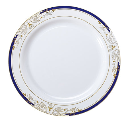 "10.25"" Dinner Plate Signature Blu Collection (120 Per Case)"