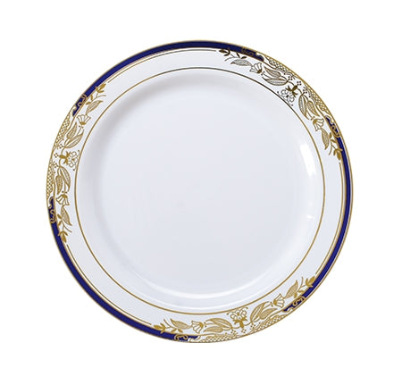 "7.5"" Salad Plate Signature Blu Collection (120 Per Case)"