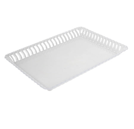"9""x 13"" SERVING TRAY (Fineline Flairware Collection)-48/CS"