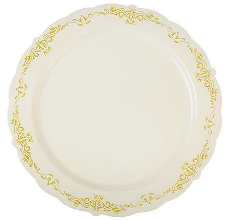 "10"" Heritage Collection Dinner Plates (120 Plates Per Case)"