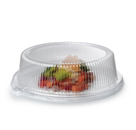 "Flariware 9"" Plate Dome PETE Lid (120/Case)"