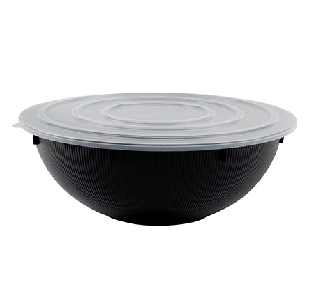 "9"" ROUND FLAT LID, POLYPRO (50 PER CASE)"
