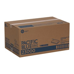 Pacific Blue Select™ C-Fold Premium 2-Ply Paper Towel, White (1440/CS) - Paper Supplies Plus