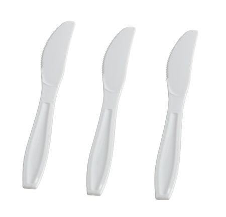Extra Heavy Weight Knives (White, Black, Clear, & Bone) (1000/CS) - Paper Supplies Plus