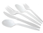 MEDIUM WEIGHT PP SOUP SPOONS DISPOSABLE, WHITE, BULK PACKED (1000/CS) - Paper Supplies Plus