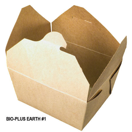 Bio-Plus Earth #1 Container (450/CS) - Paper Supplies Plus