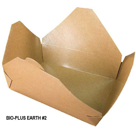 Bio-Plus Earth #2 Container (200/CS) - Paper Supplies Plus