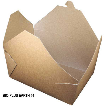 Bio-Plus Earth #4 Container (200/CS) - Paper Supplies Plus