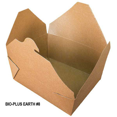 Bio-Plus Earth #8 Container (300/CS) - Paper Supplies Plus