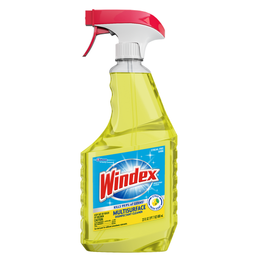 WINDEX MULTI-SURFACE DISINFECTANT TRIGGER 23-OZ (8 Bottles Per Case)