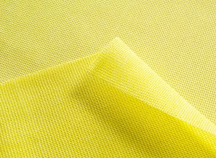 Masslinn® Heavy Duty Yellow Dust Cloth 24x24 (100/Case) - Paper Supplies Plus