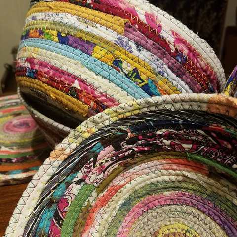 Fabric Bowls & Baskets