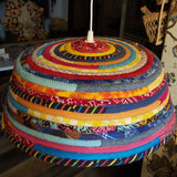 M2O Bohemian Lampshade, Handmade, You CHOOSE Size and Colors, Boho Lighting, Eclectic Home Decor - 43 Boho Street