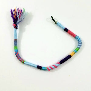 Light Blue Hair Wrap Accessory Hippie Colors for Dreadlocks and Braids You Choose Colors