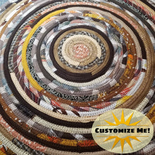 Load image into Gallery viewer, Autumn Harvest Thanksgiving Color Scheme: Mats Rugs And More 36 Round Rug