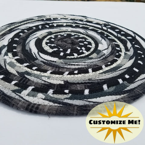 Black White & Gray Colors: Mats Rugs And More