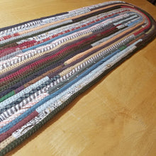 Load image into Gallery viewer, Custom Stair Treads & Carpet Runners: You Choose Size Color Pattern Oval Shaped Pads Step