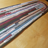 Handmade Table Runners: You Choose Size Color Pattern Oval Shaped Pads