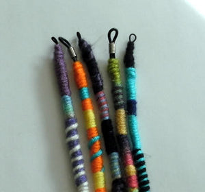 Buy 3, Get 1 Free, Yarn Falls, Braid & Dreadlock Accessories, Atebas, Dread Falls, Hippie Hair Wraps - 43 Boho Street