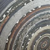 M2O Banded Rug Handmade Customize With Your Colors And Size Area Accent