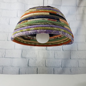 M2O Bohemian Lampshade Handmade You Choose Size And Colors Boho Lighting Eclectic Home Decor