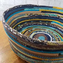 Load image into Gallery viewer, M2O Pet Basket Bed Dog Cat Multicolor Jeweled Extra Large Fabric Bowl Made To Order You Choose