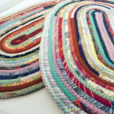 Oval Placemats Table Mats Made To Order Handmade Multicolor