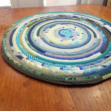 Load image into Gallery viewer, R2S Handmade Bohemian Table Mat 16 Round Boho Colors Ready To Ship