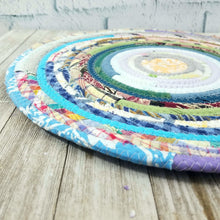 Load image into Gallery viewer, R2S Handmade Table Mat Fabric Placemat 13.5 Diameter Multicolors Ready To Ship