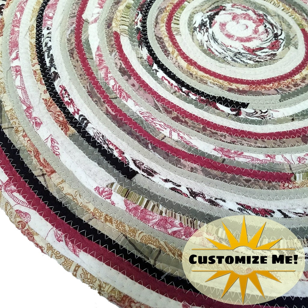Rose Garden Color Scheme: Mats Rugs And More