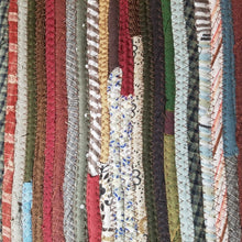 Load image into Gallery viewer, Stair Runners: Jeweled Pattern Multicolor -You Choose Size Color Custom Handmade Treads Carpet