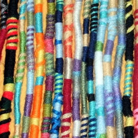 Yarn Falls, Hippie Hair Wraps, Braid & Dreadlock Extensions, Accessories hair tassels- 43 Boho Street