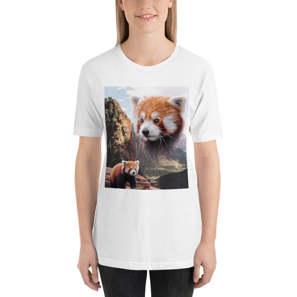Red Panda Jungle Unisex T-Shirt