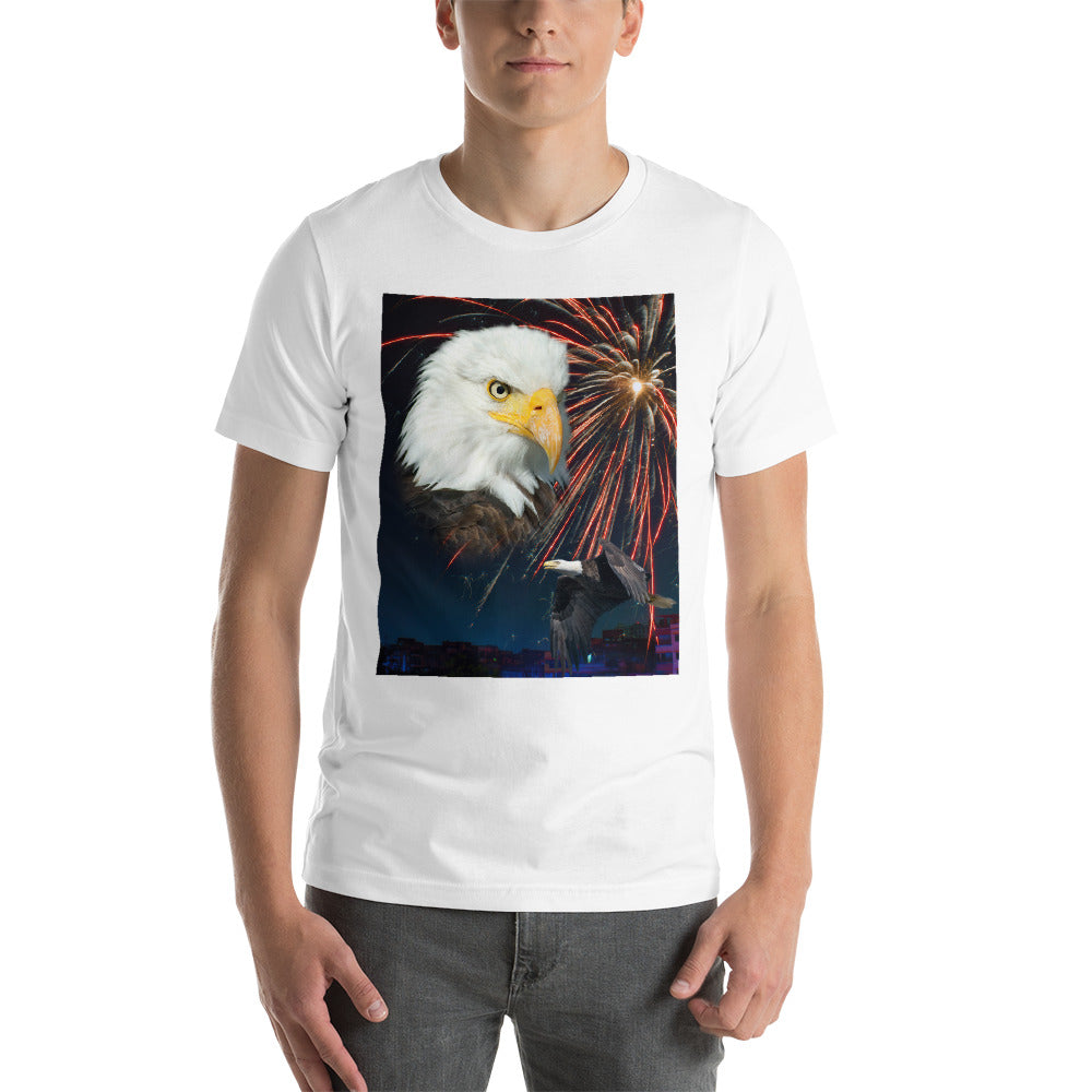 Midnight Eagle Unisex T-Shirt