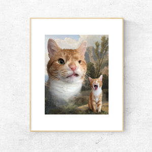 Hogan Winky Kitty Physical Print