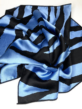 Blue Tiger Scarf