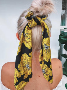 Sunshine Scarf-Scrunchie