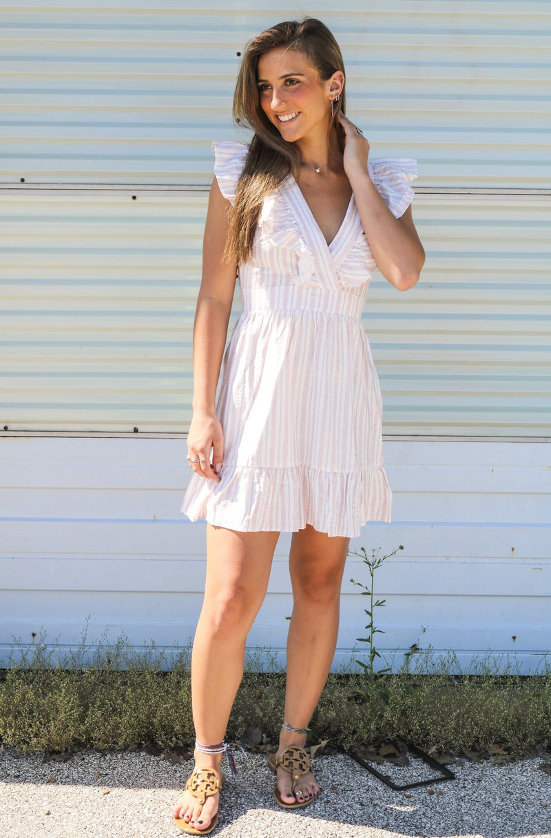 Ava Striped Dress Dress ~