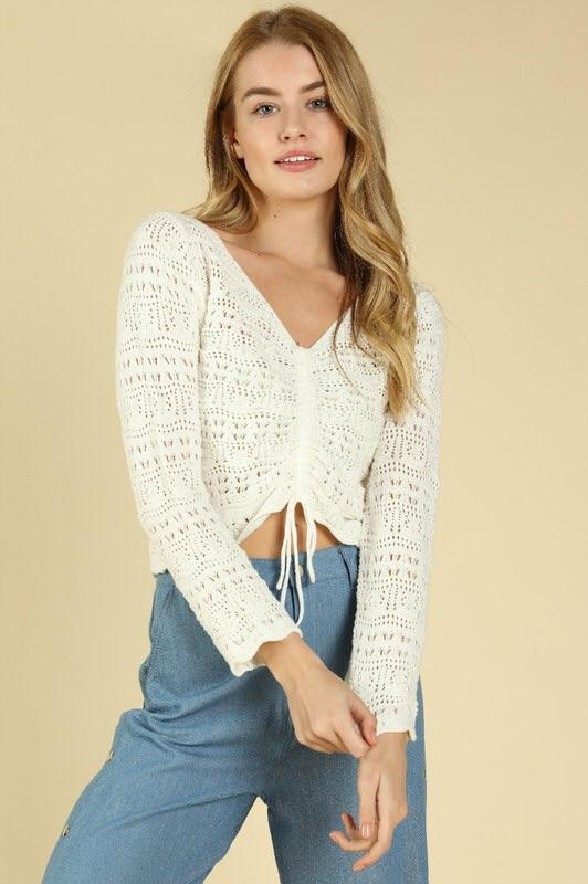 Beach Knit Top Top ~