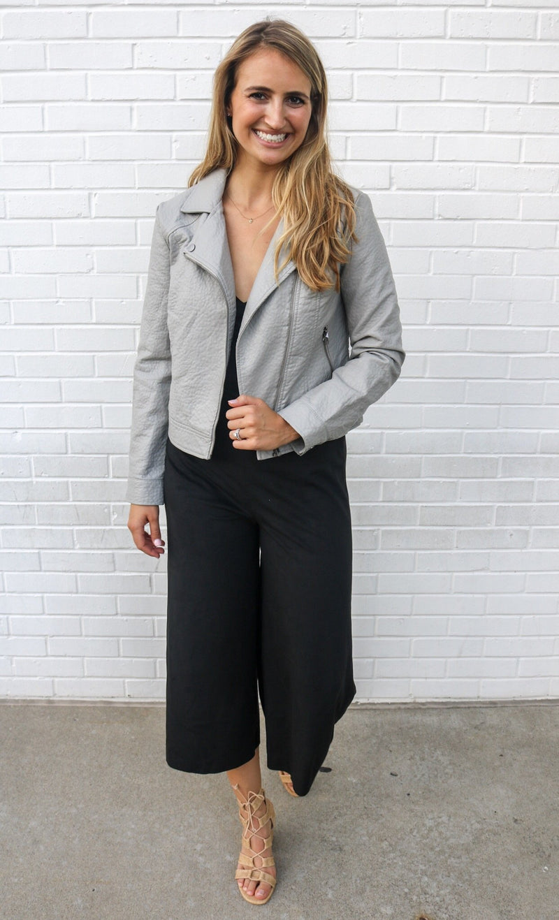 Bell Behaved Suede Jumpsuit jumpsuit Jack by BB Dakota