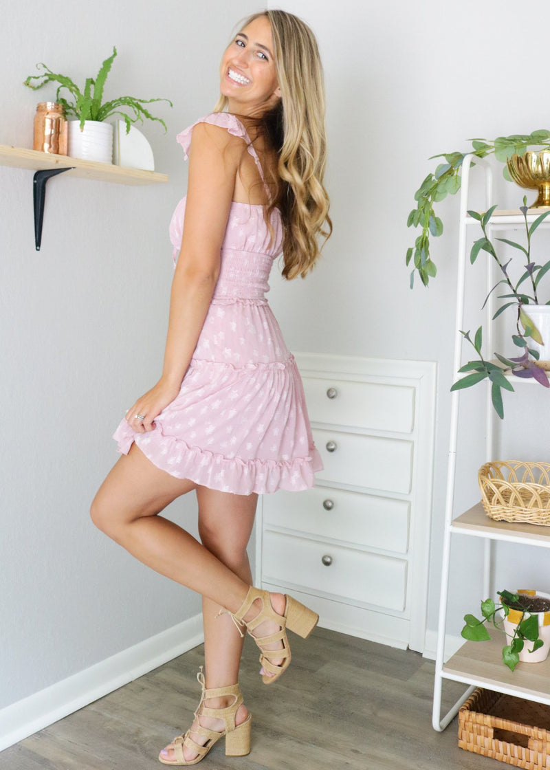 Bella Pink Star Dress Dress ~