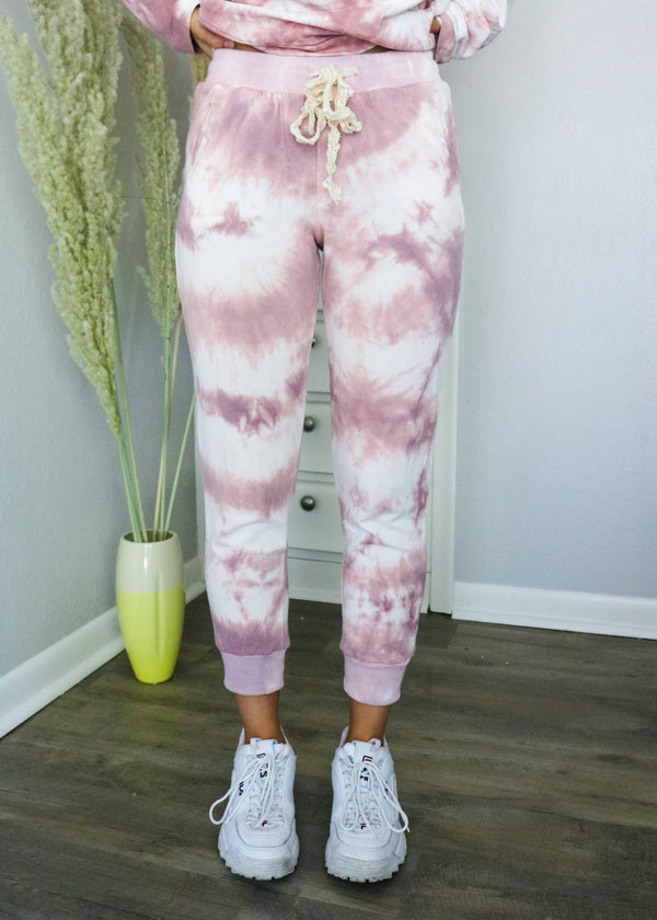 Berry Tie-Dye Joggers Jogger ~
