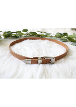 Brown Western Belt Belt ~
