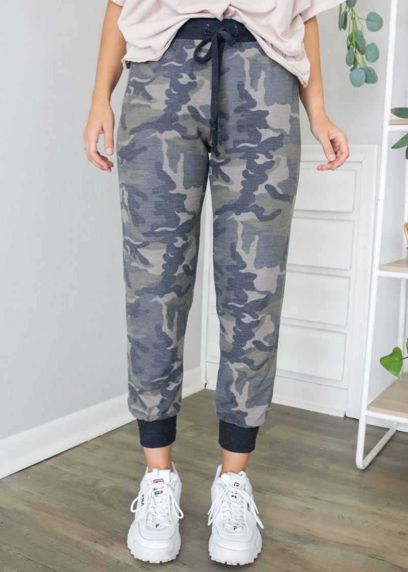 Camo Joggers Bottoms ~