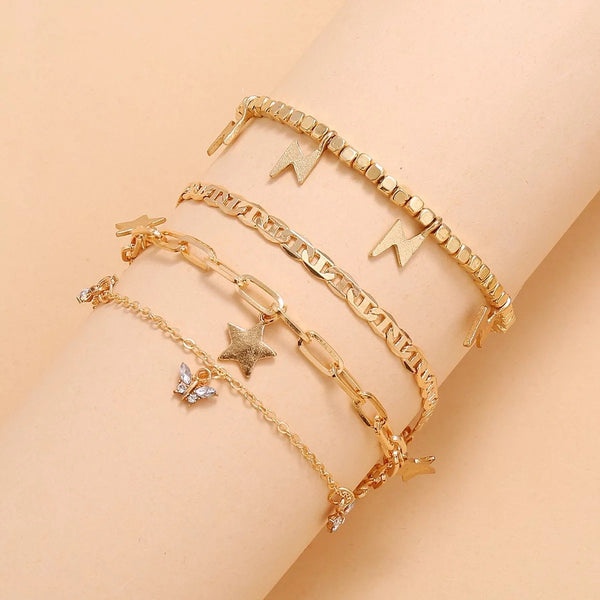 Charm Anklet Set Accessory Ellison + Young