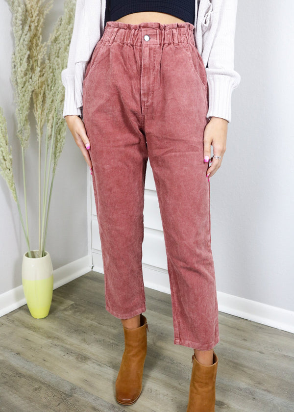 Cinnamon Corduroy Jeans Bottoms ~