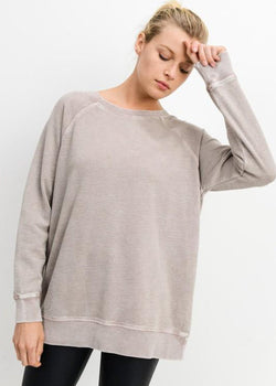 Ella Mineral Wash Top Top ~