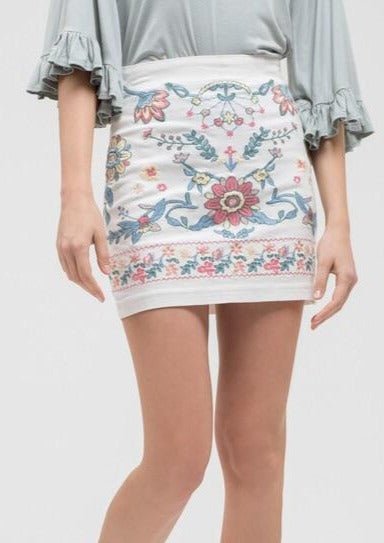 Flower Child Skirt ~
